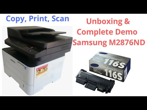 Samsung Printer 2876nd Digital Copier