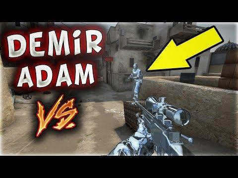 DEMİR ADAM OLUP VS ATTIK EFSANE !! (CS:GO)