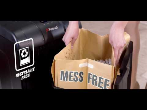 Video of the Rexel RSX1834 Shredder