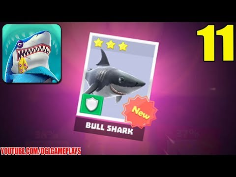 Hungry Shark Heroes - Bull Shark - Gameplay Part 11 (Android iOS) - OGL  Gameplays