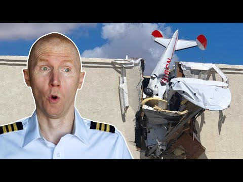 Plane Crashes Into Hangar | Viral Debrief