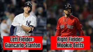 The BEST Current MLB Player at Every Position (2018-19)
