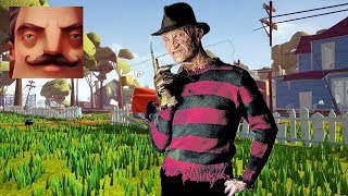 Hello Neighbor - My New Neighbor Freddy Krueger Act 1 Gameplay Walkthrough