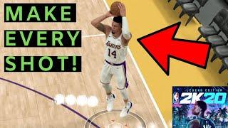 NBA 2k20 SHOOTING TUTORIAL (SHOOTING TIPS & TRICKS) GREEN BAR READY