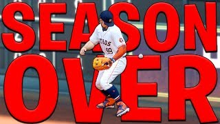 The Season Is OVER?! MLB The Show 20 | Road To The Show Gameplay #50