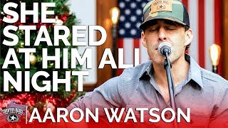 Aaron Watson - She Stared At Him All Night (Acoustic) // Country Rebel Christmas Sessions