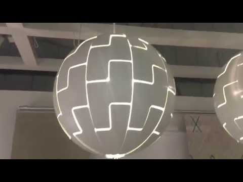 , title : 'IKEA EXPLODING DEATH STAR LAMPSHADE - DEMO - FANTASTIC!'