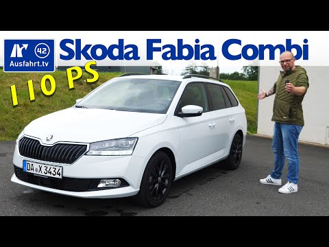 2020 Skoda Fabia Combi Style 1.0 TSI 110 PS  - Kaufberatung, Test deutsch, Review, Fahrbericht