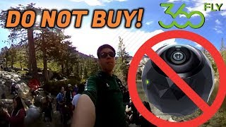 """DO NOT BUY THE """"360fly HD"""" CAMERA! (Horrible Video Quality)"""