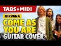 Nirvana - Come As You Are on (How to Play on Acoustic Guitar: Fingerstyle Tabs)