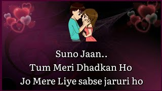 💕 Most Romantic Love Lines For Girlfriend 👸| Love Quotes In Hindi 💕