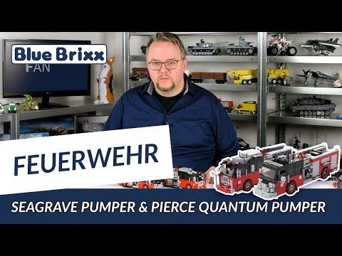 Seagrave Pumper Version 3 Rot/Schwarz