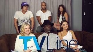 Le cast de The 100 - 10/07/17 - TVLine