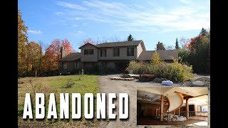Exploring Abandoned Custom Mansion With GOLD Room & Tennis Court