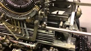 Teletype Model 15 Slow Motion