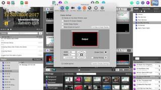 How to send a ProPresenter syphon output over the network - hmong video