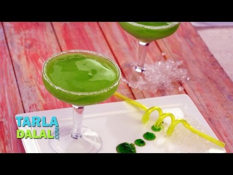 Video Kiwi Margharita (Mocktail) by Tarla Dalal