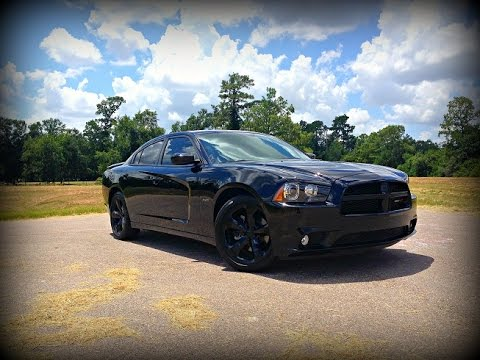 2014 Dodge Charger R/T Blacktop Edition Review