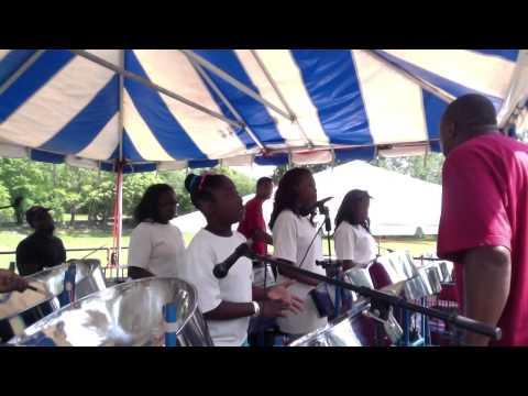 Deliverance on steel  All gospel steel band