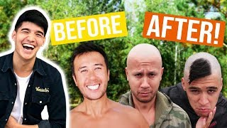 WE SHAVED THEIR ENTIRE HEADS! *HUGE MISTAKE*