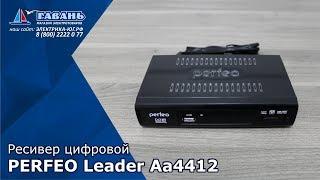 Ресивер цифровой PERFEO DVB-T2/C LEADER A4412