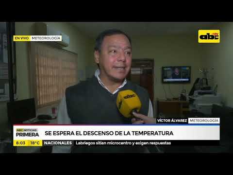 Se espera el descenso de la temperatura