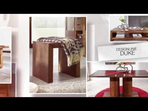 Puristische Sheesham / Palisander Möbel von www.massivmoebel24.de - Design DUKE