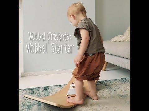 Vorschau: wobbel starter Board hellgrau 70 x 27,5 cm transparent