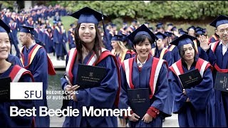 Best Beedie Moment: Fall Convocation 2017
