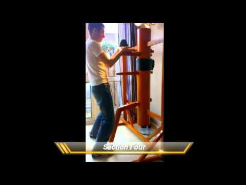 Slow Wing Chun Wooden Dummy Form