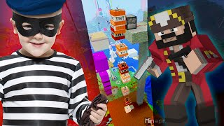 GRIEFING A MAP THIEF (Minecraft Trolling)