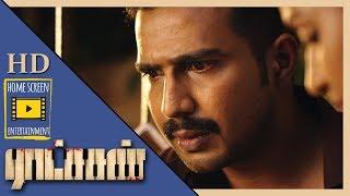 Vishnu Vishal gets suspended   Ratsasan Movie Scenes   Vishnu Vishal tracks down the psycho killer
