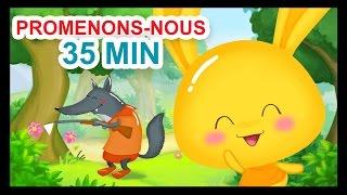 Promenons-nous dans les bois - 35 min de comptines et chansons pour enfants - Titounis