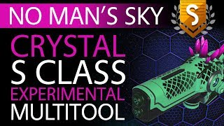 No Man's Sky Cyber Punk Crystal S Class Experimental Multitool | Available ALL | Xaine's World NMS