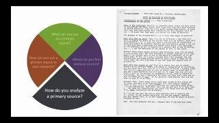 How do you analyze a primary source?