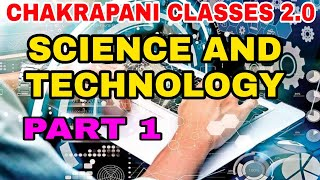 SCIENCE AND TECHNOLOGY PART 1 KERALA PSC