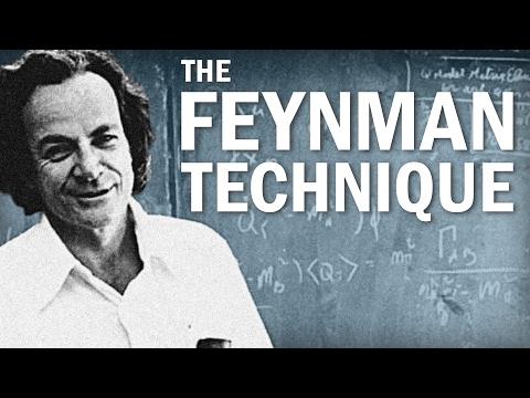 Jak se učit rychleji pomocí Feynmanovy techniky