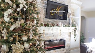 How To Decorate A Mantel Day 4 of The 12 Days of Christmas