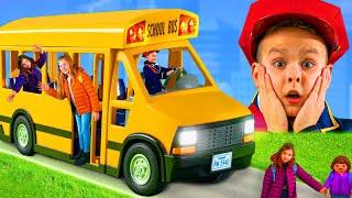 """""""Wheels on The Bus"""" Kinderlieder & Spielzeuggeschichten"""