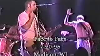 "Face To Face - ""Sensible"" Live In Madison, WI 7/20/95"