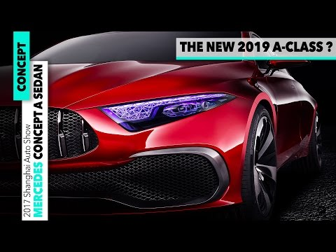 Mercedes-Benz Concept A Sedan: 2019 – DESIGN New A-Class Car Generation Preview [GOMMEBLOG]
