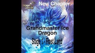 Dragon Nest M - New Chapter lv130 , Grandmaster idn stage 1 .. ( reward 2 man no death bug?? Huh...)