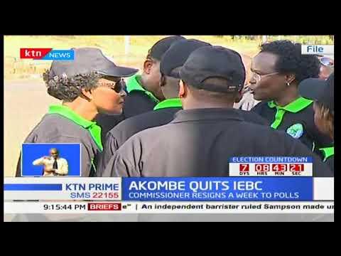 Memos sent by Roselyn Akombe to the IEBC chair Wafula Chebukati