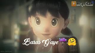 Sweet Hindi soung।।Nobita & sizuka video।।whats app ststus।।