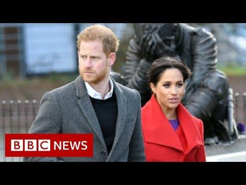 Harry and Meghan drop royal duties and HRH titles - BBC News