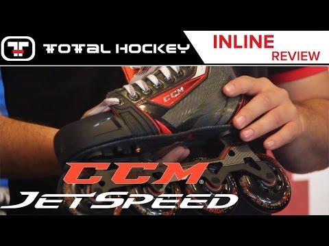 CCM Jetspeed Inline Hockey Skates // Inline Review