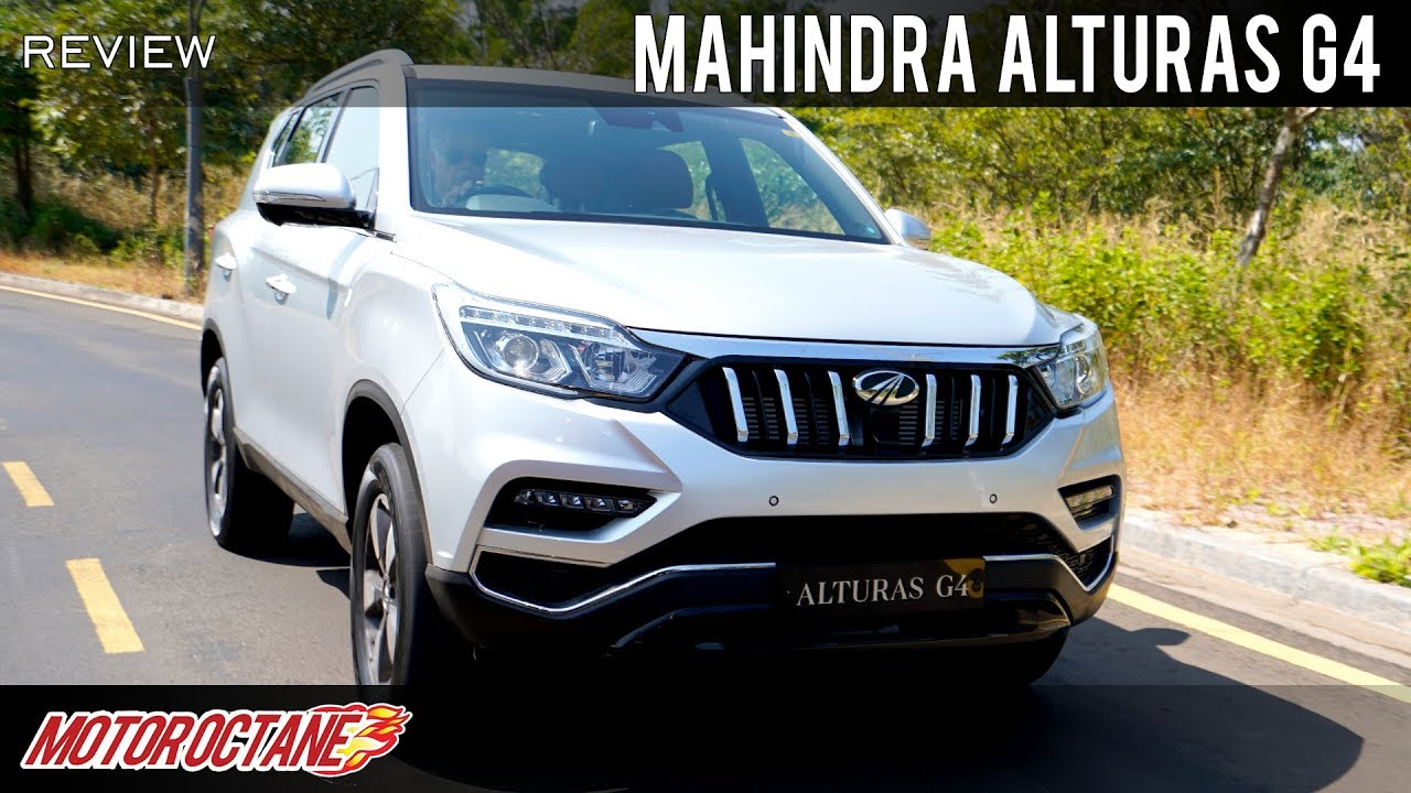 Motoroctane Youtube Video - Mahindra Alturas G4 | Hindi Review | MotorOctane