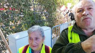 Pau : première manif du 1er mai pour Yannick et Isabelle
