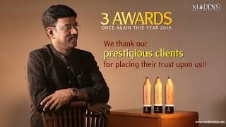 Maddys Awards 2019 | Vinisha Vision Award Winning Advertising Agency | K V Kathiravan