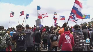 Day 63: Conflict between protectors of Mauna Kea and the state continues